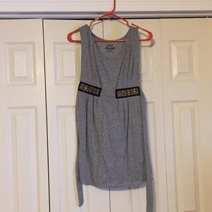 No sleeve dress size small